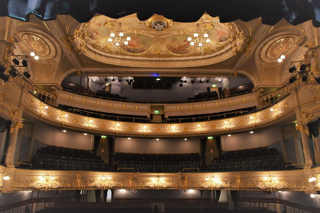 Buxton Opera House auditorium