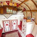 Rosehip gypsy caravan interior