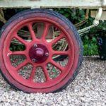 gypsy caravan wheel