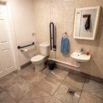 accessible toilet and shower facilities