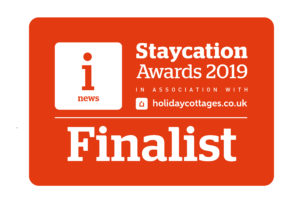 Staycation Awards Finalist 2019 logo