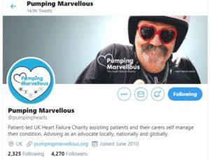 Pumping Marvellous Twitter