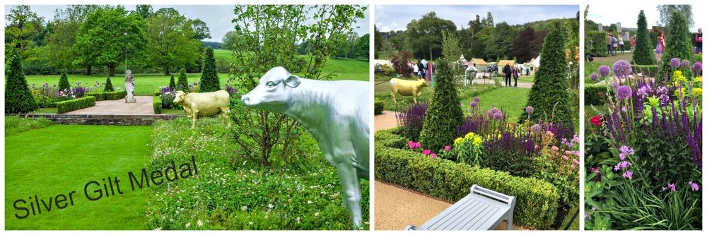RHS Silver Gilt show garden