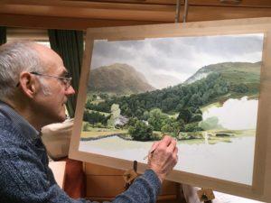 Artist Roger Allen