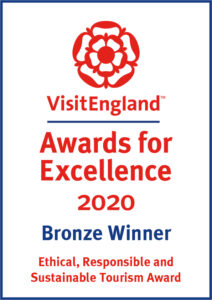 VisitEngland Bronze Award for Excellence