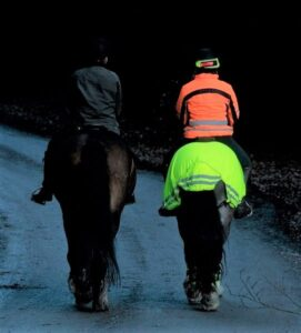 High-viz for horse riding