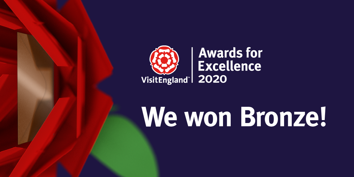 VisitEngland Bronze Award for Sustainable Tourism