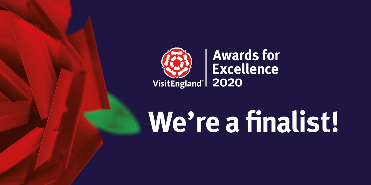 VisitEngland Awards for Excellence Finalist