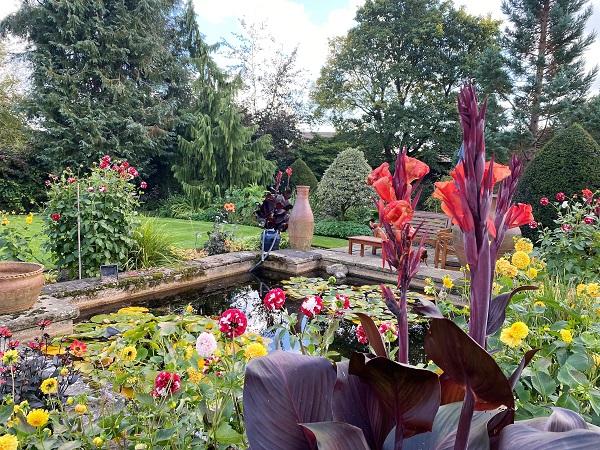 Fischer's Hall gardens
