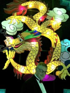 Blackpool Illuminations Chinese Dragon