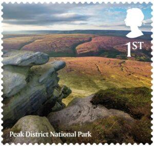 Peak District National Park Stamp