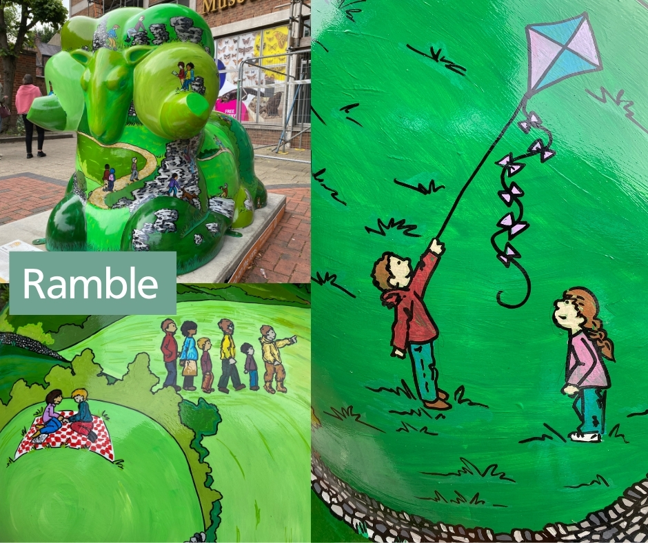 Ramble sculpture